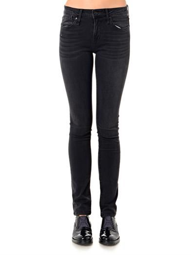 Marc by Marc Jacobs Lou mid-rise skinny jeans