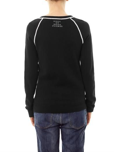 Marc by Marc Jacobs Rue the cat intarsia-knit sweatshirt
