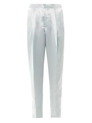 Cosmo satin trousers