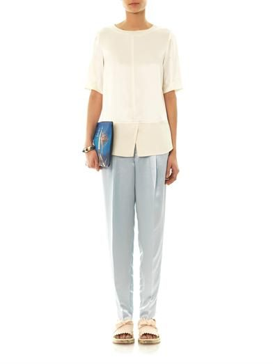 Marc by Marc Jacobs Cosmo satin trousers