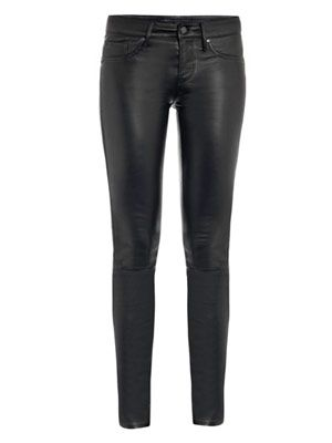 Mirah leather trousers