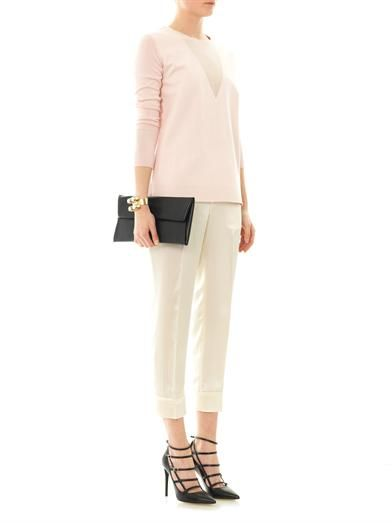 Marc by Marc Jacobs Julee silk tailored trousers