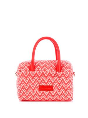 Fluoro chevron Lily bag