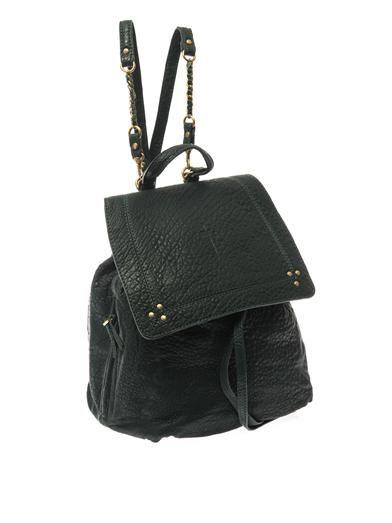 Jérôme Dreyfuss Florent grained-leather backpack