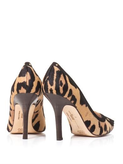 Jérôme Dreyfuss Pinpin calf hair point-toe pumps