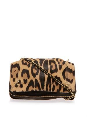 Bobi calf-hair cross-body bag
