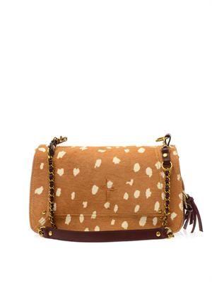 Bobi Bambi calf-hair shoulder bag