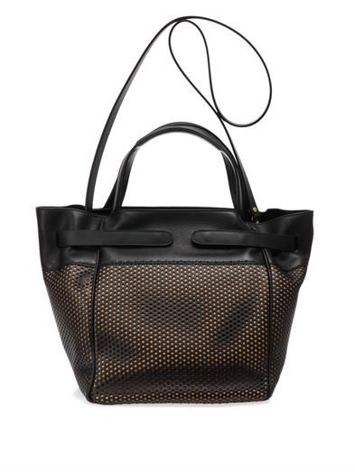 Jérôme Dreyfuss Vladimir perforated-leather tote