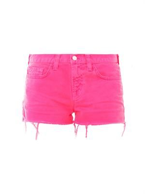 1046 low-rise cut-off shorts