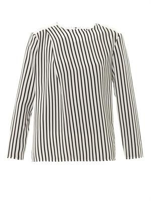 Richey striped blouse