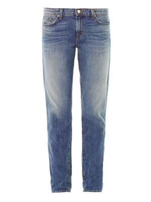Aidan mid-rise boyfriend jeans