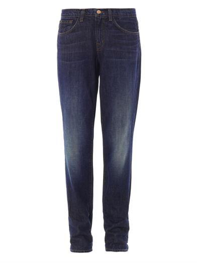 J Brand Logan low-rise boyfriend jeans