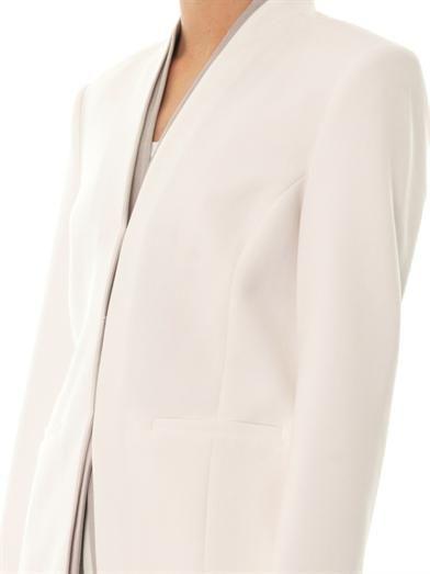 J Brand Hale contrast-lapel blazer