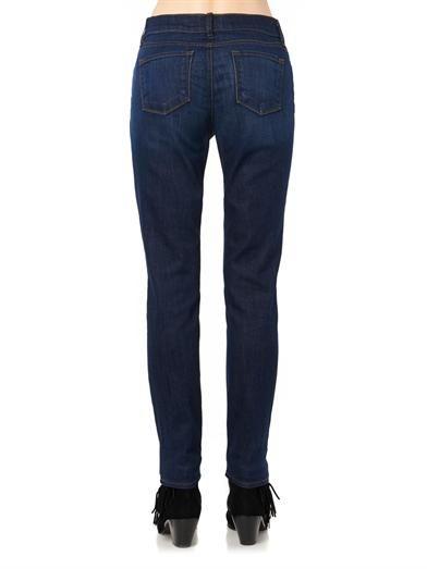 J Brand Jake mid-rise slim boyfriend jeans