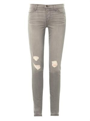 620 mid-rise skinny-leg distressed jean