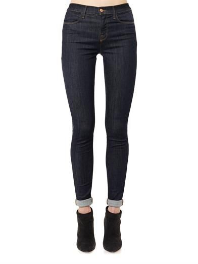 J Brand Jess high-rise skinny jeans