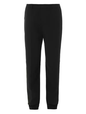 Marianne tailored crepe trousers
