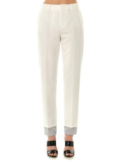 J Brand Marianne tailored crepe trousers