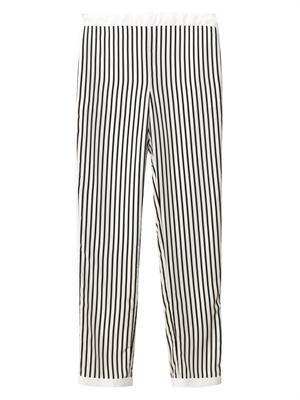 Delia striped trousers