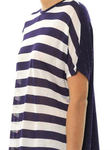 J Brand Noli contrast-panel T-shirt