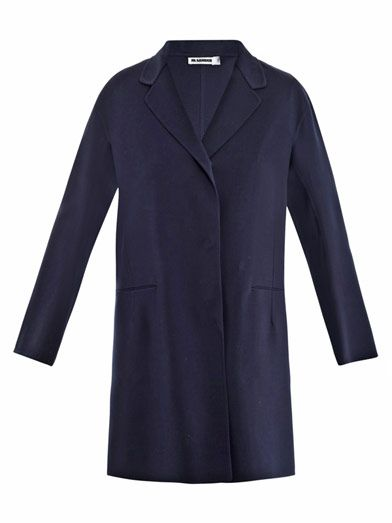 Jil Sander Serge stretch-wool coat