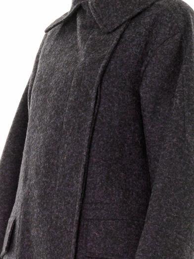 Jil Sander Pompei alpaca-blend coat