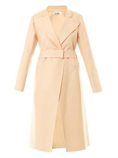 Jil Sander Riverside cotton coat