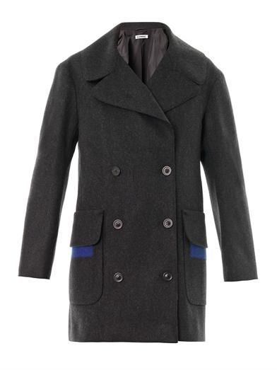 Jil Sander Parigi double-breasted wool coat