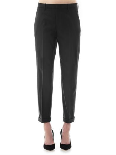 Jil Sander Pepino wool tailored trousers
