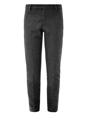 Pier cropped wool trousers