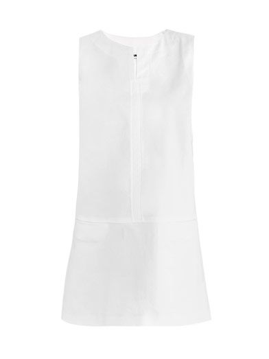 Jil Sander Navette Panama cotton dress