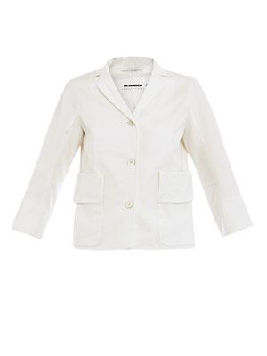 Nicolson washed cotton jacket