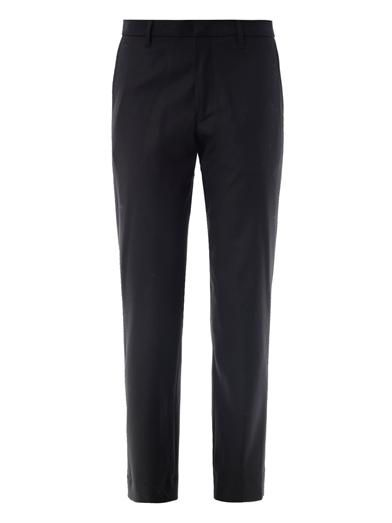 Jil Sander Flannel seam-back trousers