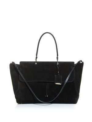 New Nefele suede tote bag
