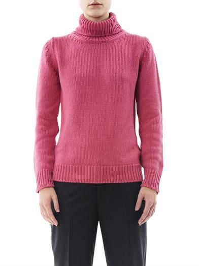 Jil Sander Cashmere high-neck sweater