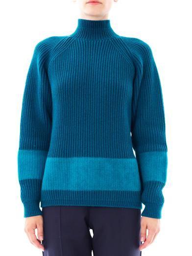 Jil Sander Ribbed-knit wool sweater
