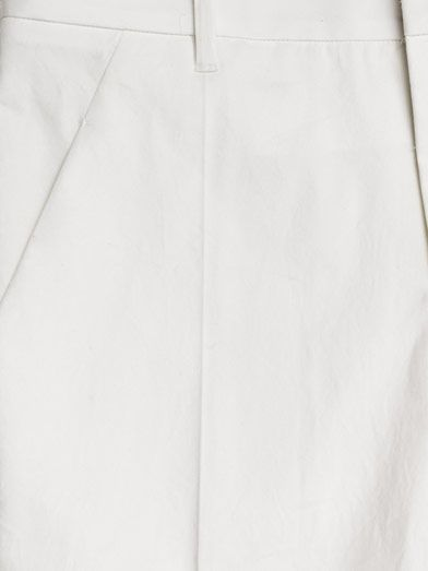 Jil Sander Niccolo washed cotton trousers