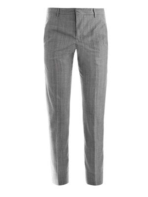 Niccolo Glen check wool trousers