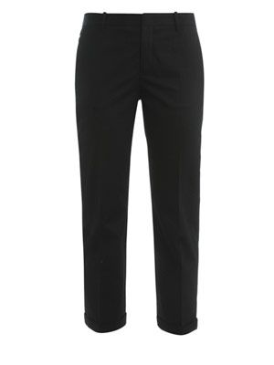 Neil cotton tailored trousers