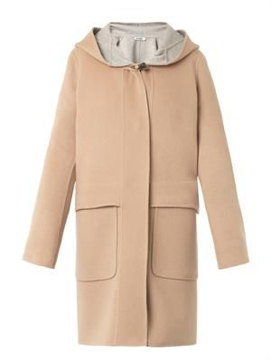 Sydney melton-wool duffle coat