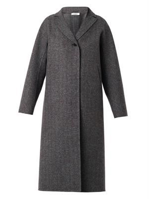 Saratov melton-wool coat