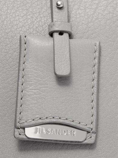 Jil Sander J large leather tote
