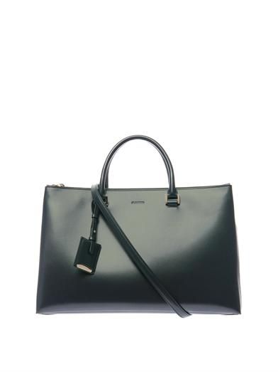 Jil Sander World J leather tote