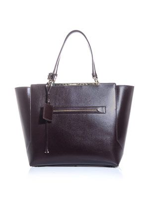Nicaso leather shopper
