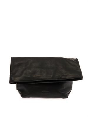 Pilade leather clutch