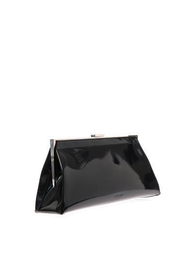 Jil Sander Patent leather clutch