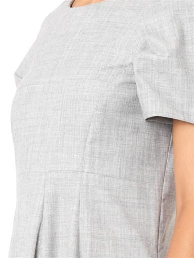 Jil Sander Compact-flannel dress