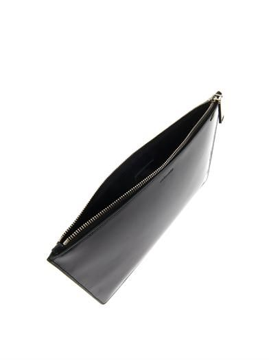 Jil Sander Patent leather clutch