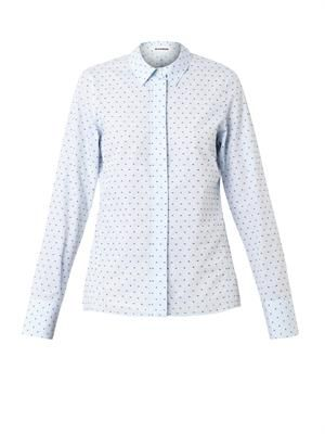 Silvia Swiss-dot cotton shirt