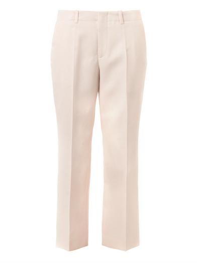 Jil Sander Sandro wool tailored trousers